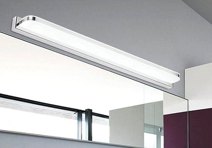 Sucatle led specchio anteriore luce lampada da parete per bagno