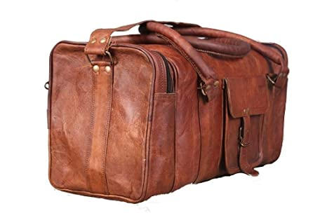 009ca1b11b36 Image Unavailable. Image not available for. Colour  CraftShades Vintage Leather  Duffel ...