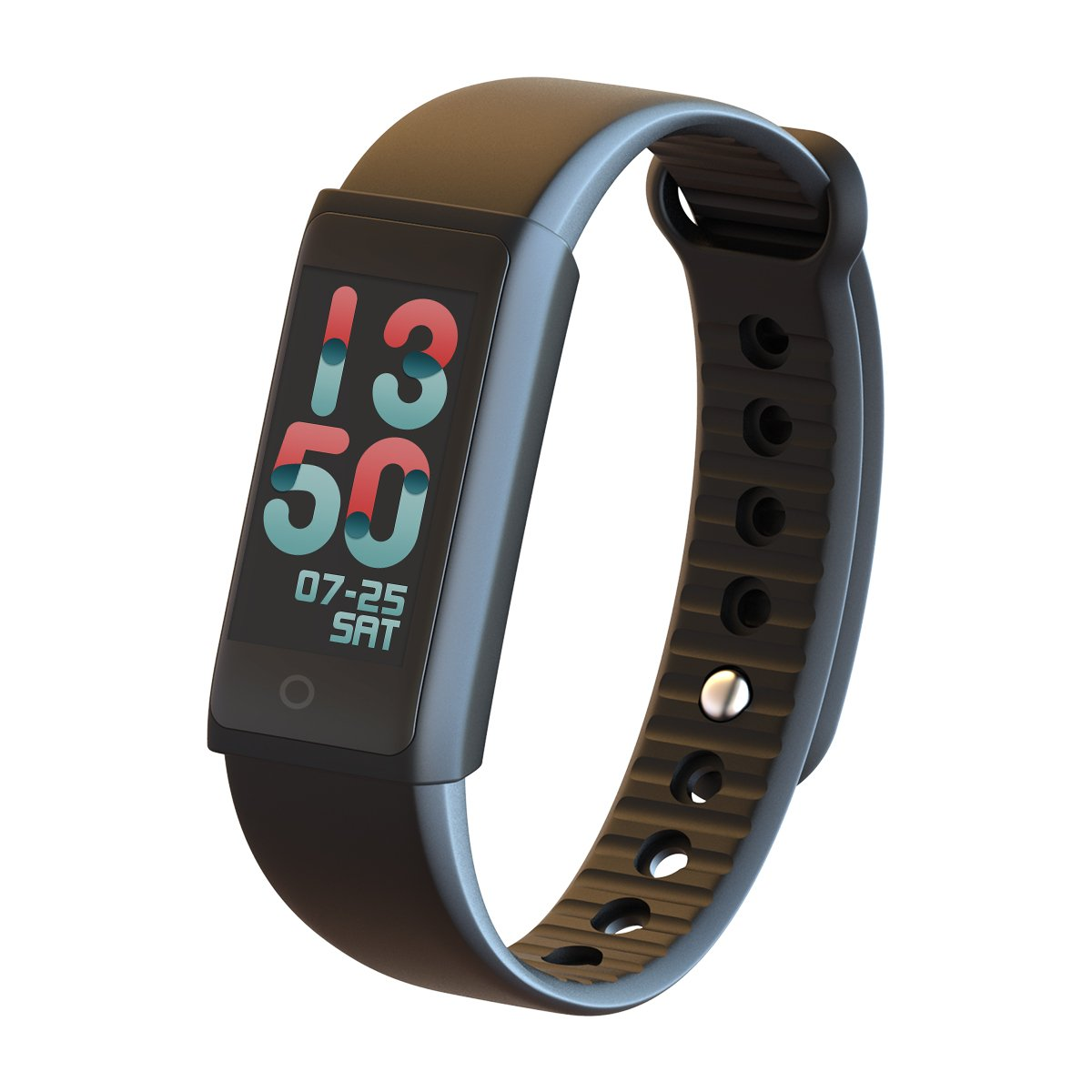 PANJIA X6S Color OLED Touch Screen Women Men Smart Bracelet Watch Healthy Fitness Smart Tracker Intelligent Band Heartrate Blood Pressure Oxygen Oximeter Sport Bracelet for Ios Android Phone