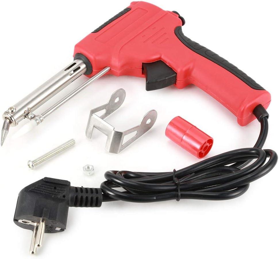 MXECO 220V 60W Pistola de soldadura de soldadura automática de alimentación Envío automático Pistola de estaño Kit de herramientas de soldadura ajustable Kit de soldador de estaño