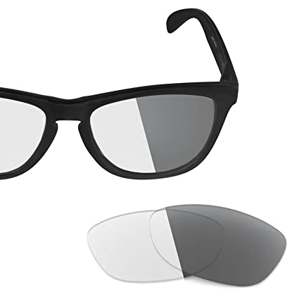 b0044800f55 Revant Replacement Lenses for Oakley Frogskins Elite Adapt Grey  Photochromic  Amazon.co.uk  Clothing