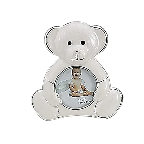 Buy SILVER AND ENAMEL TEDDY BEAR FRAME - Picture Frame Online at Low ...