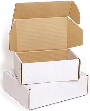 Ambassador - Cajas para envíos postales (50 unidades, 100 x 75 x 60 mm): Amazon.es: Oficina y papelería