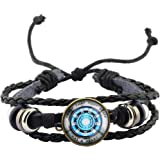 POTIY Iron Man Keychain Gift for Iron Man Fan Proof That Tony Stark Has A Heart Jewelry Tony Stark Keychain The Avengers Gift