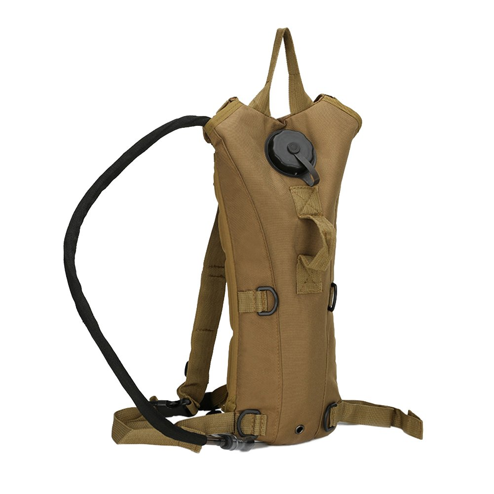 Sport Hydration Pack Backpack 3L Water Bladder for Cycling Hiking Running Walking Black