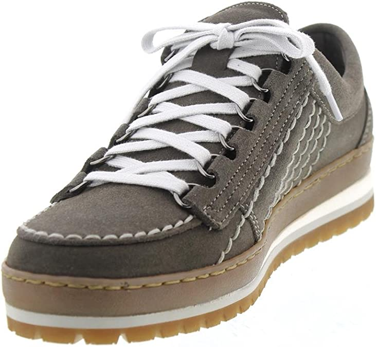 Velours 9852 Low Shoe Mephisto Rainbow Dark Grey R823