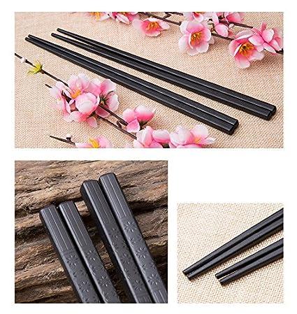 Goldage 5-Pairs Fiberglass Dishwasher-safe Chopsticks Japanese Minimalism - Reflection