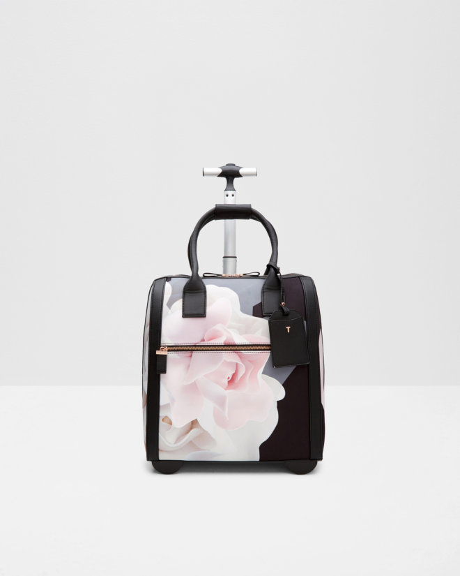 Porcelain Rose travel bag - Black | Bags | Ted Baker
