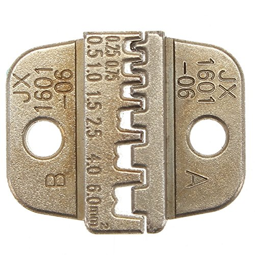 JX-1601-06 Alloy Steel Die For Ratchet Crimping Pliers Toner Holder Seal