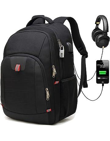 Antivol Sac à Dos Ordinateur Portable 17.3 Pouces Homme Imperméable Sac a  Dos PC Portable Sac caa8f711c87d
