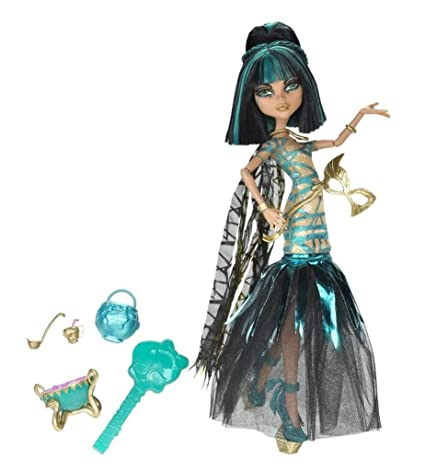 Amazon Com Toy Game Famous Monster High Ghouls Rule Cleo