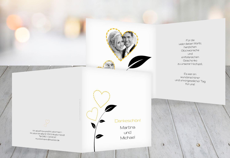 Kartenparadies Danksagung für Hochzeitsgeschenke Hochzeit Dankeskarte HerzBlaume, hochwertige Danksagungskarte Hochzeitsglückwünsche inklusive Umschläge   20 Karten - (Format  145x145 mm) Farbe  RosaRosa B01MR8ELN5 | Maßstab ist der Gr