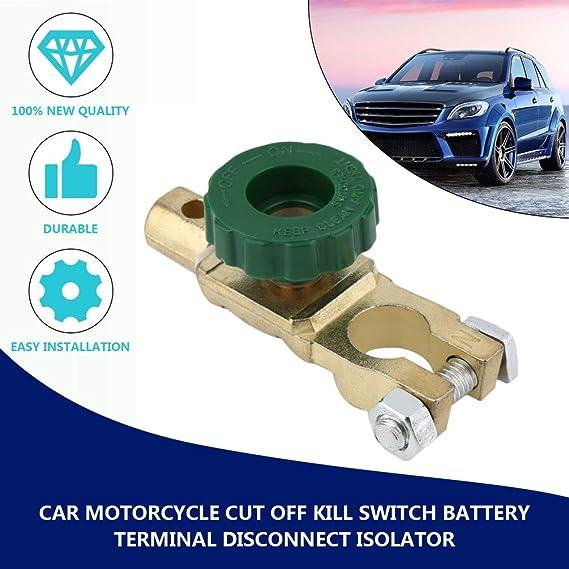 TAOHOU New Car Motorcycle Cut Off Kill Switch Battery Terminal ...