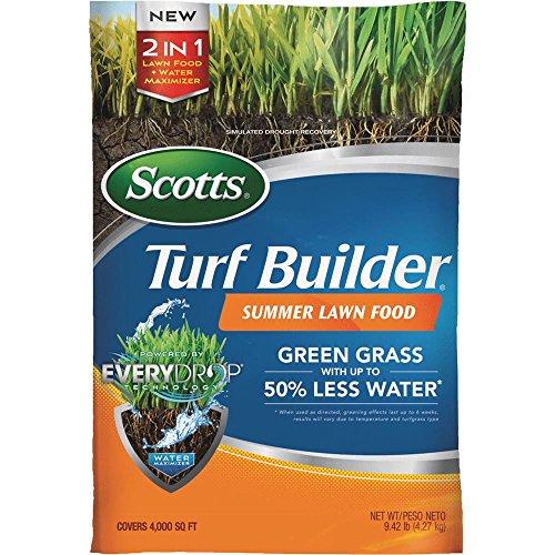 Scotts 49021 Turf Builder 4,000 sq. ft. Summer Lawn Food, 9.42 lb