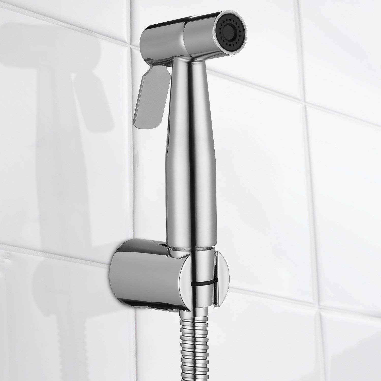 Nur Bidet Spraye Aizhy Bidet-Handbrause,Hohe Powered Hand gehalten Bidet Sprayer Premium Edelstahl geb/ürstet Sprayer Bidet Wasserspar-Duschkopf
