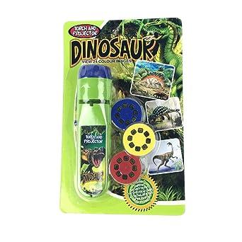 Juego educativo de juguete con proyector de dinosaurio y unicornio ...