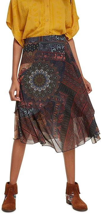 Desigual Skirt Luka Falda para Mujer: Amazon.es: Ropa y accesorios