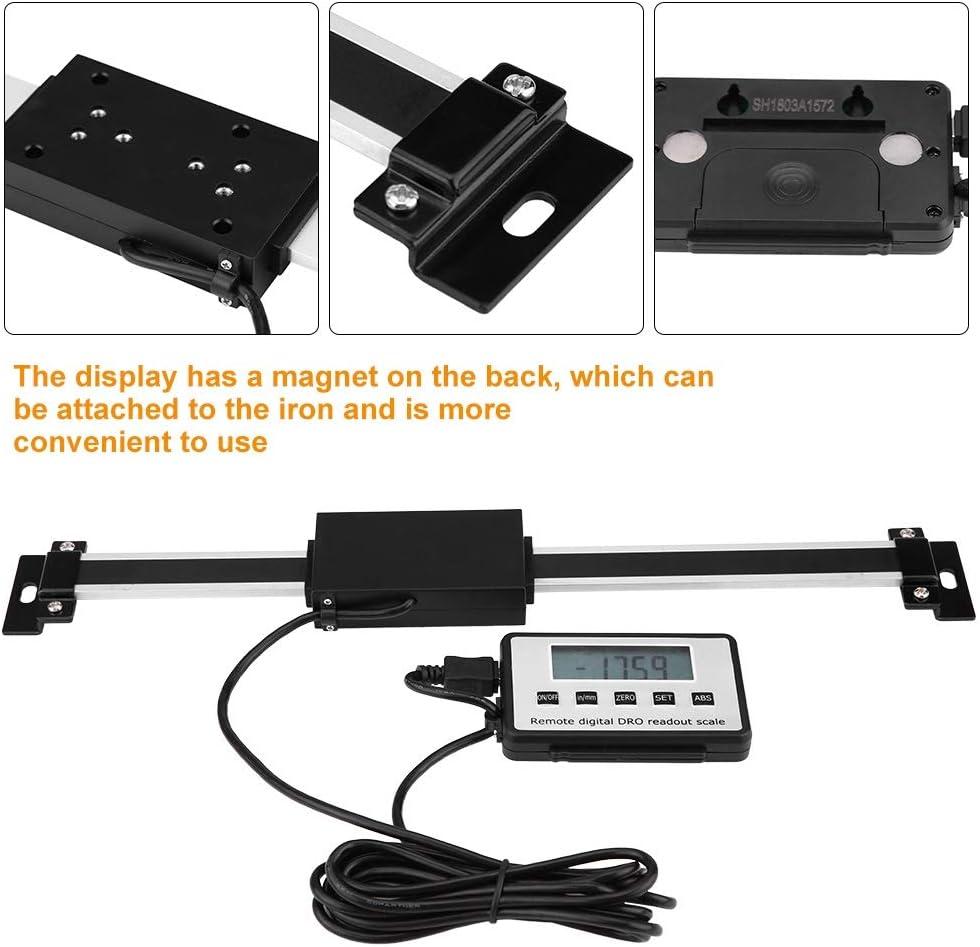 Kit daffichage num/érique 0-300mm pr/écis LCD /échelle lin/éaire Kit for affichage num/érique Fraiseuses Tours