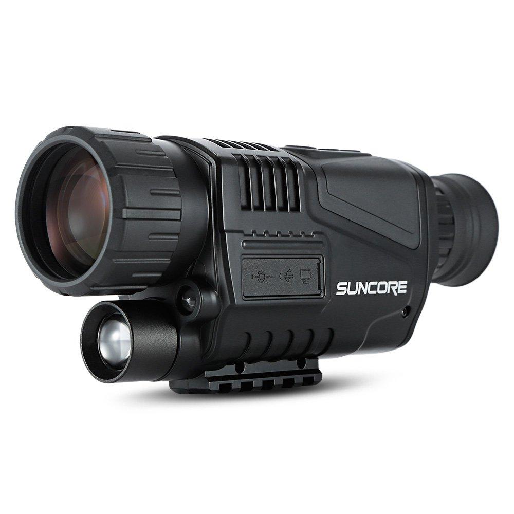 5x40 Monocular Telescope Camera Infrared Digital Night Vision Optical Spotting Scope for Hunting Camping Fishing Hiking