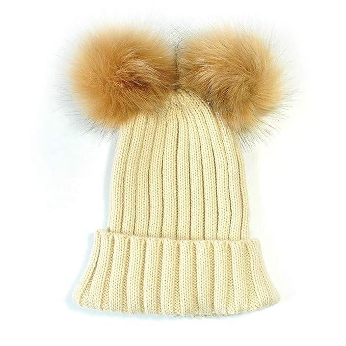 Kobay Le Donne mantengono Il Cappello da Orlo di Lana Lavorato a Maglia   Amazon.it  Abbigliamento 4dd48de359eb