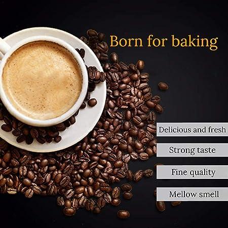 H-sunshy Máquina casera para tostar café, máquina de Hornear, Secadora eléctrica de Frijoles, máquina de Frijoles fritos, tostadora de Granos de café: ...