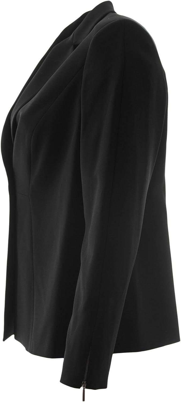 Marina Rinaldi Womens Curioso Zip Cuff Jacket