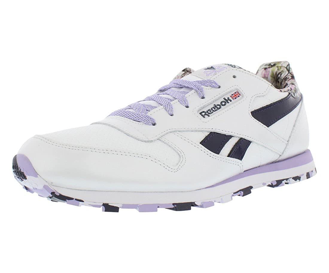 Reebok Classic Leather Gradeschool Athletic Girls Shoes