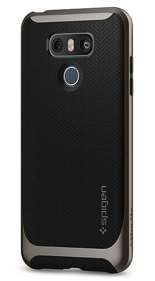 on sale 2aef5 19473 Spigen Neo Hybrid Designed for LG G6 Case (2017) - Gunmetal