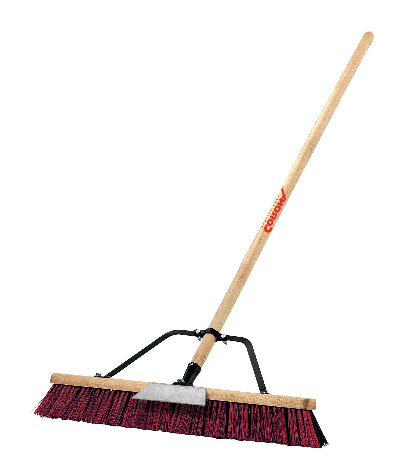 Corona BM 61002 Push Broom, 2 Bristles, 24-Inch Wide by Corona