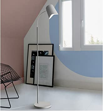 Lámparas de Pie Lámpara de Piso Luz de Pie Lámpara de Pie de Hierro Moderna, Macaron Lámpara de Lectura Estándar para Dormitorio Lámpara de Estudio Sala de Estudio Sala de estar -