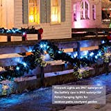 FOOING 4 Pack Firework Lights 120 led Copper Wire