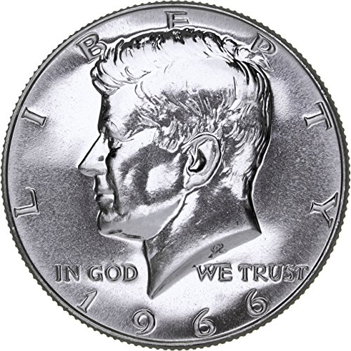 1966 Kennedy SMS Special Mint Set 40% Silver Half - 1/2 Brilliant Uncirculated