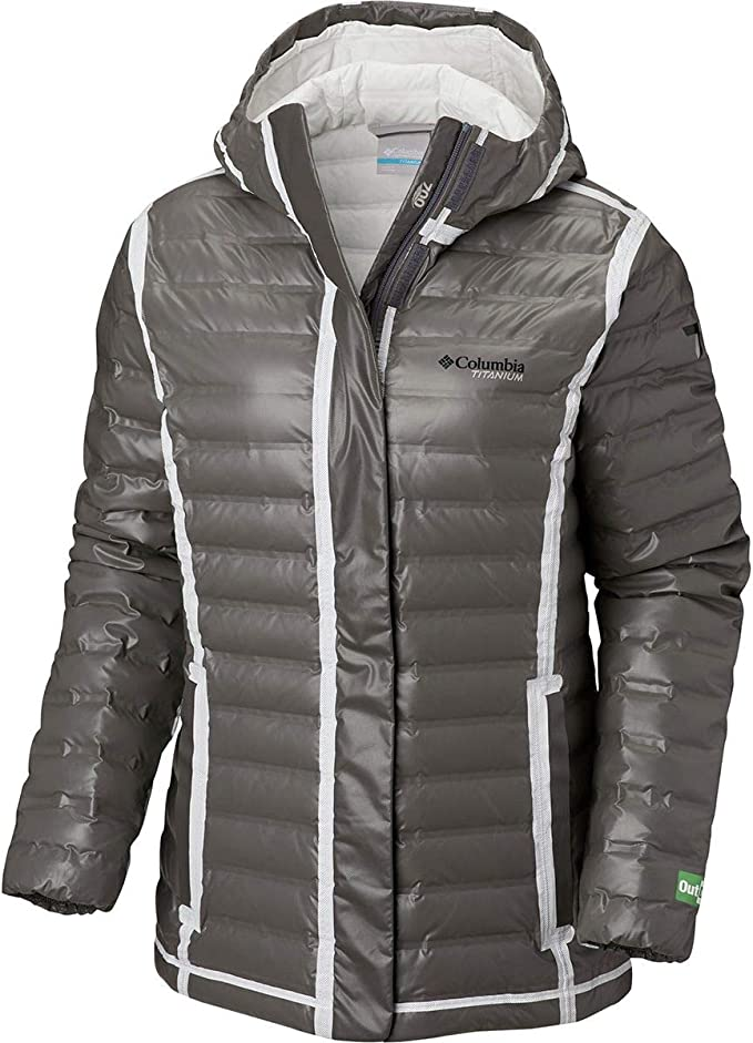 Amazon.com: Columbia Titanium Outdry EX Eco Hooded Down Jacket - Women