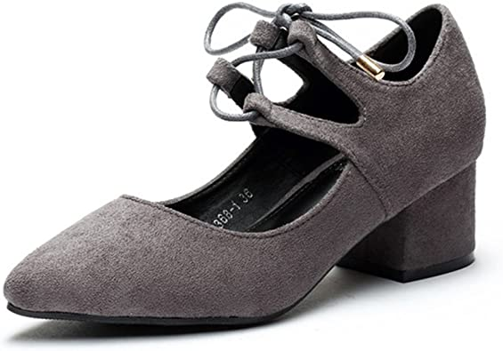 chaussure noire fermée petit talon