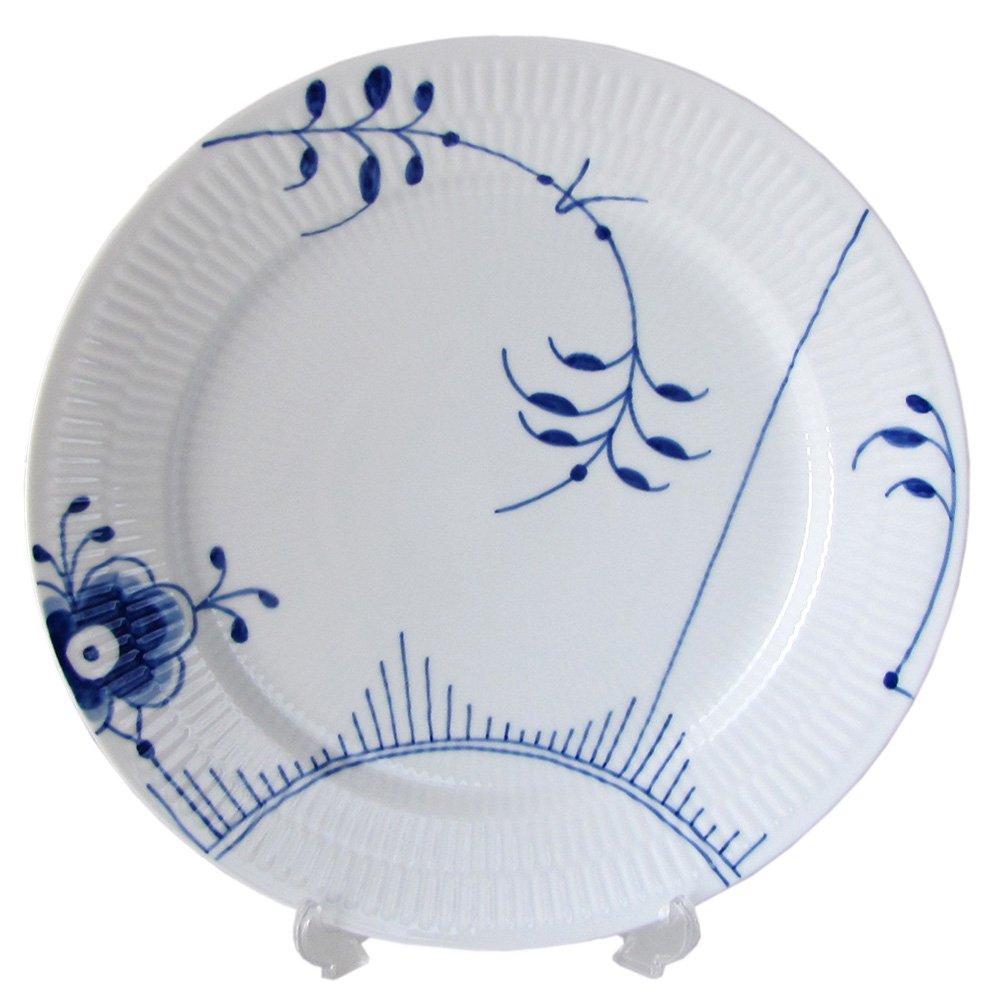 Blue Fluted Mega 10.75'' Dinner Plate