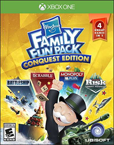 Hasbro Family Fun Pack Conquest Edition - Xbox One (Best Family Kinect Games)