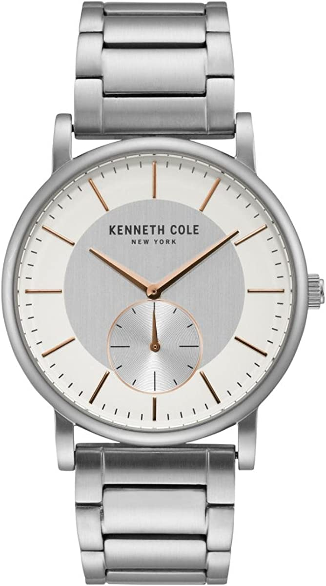 Kenneth Cole New York Men s Quartz Stainless Steel Casual Watch
