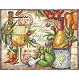 Dimensions Stamped Cross Stich Kit, Pinot Grigio