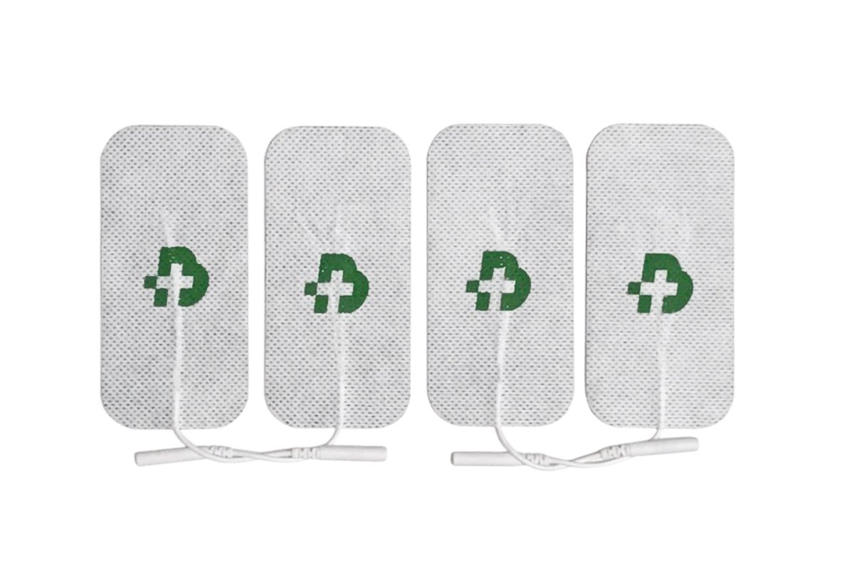 Tesmed electrodos para electroestimulador mm  x universales lavables