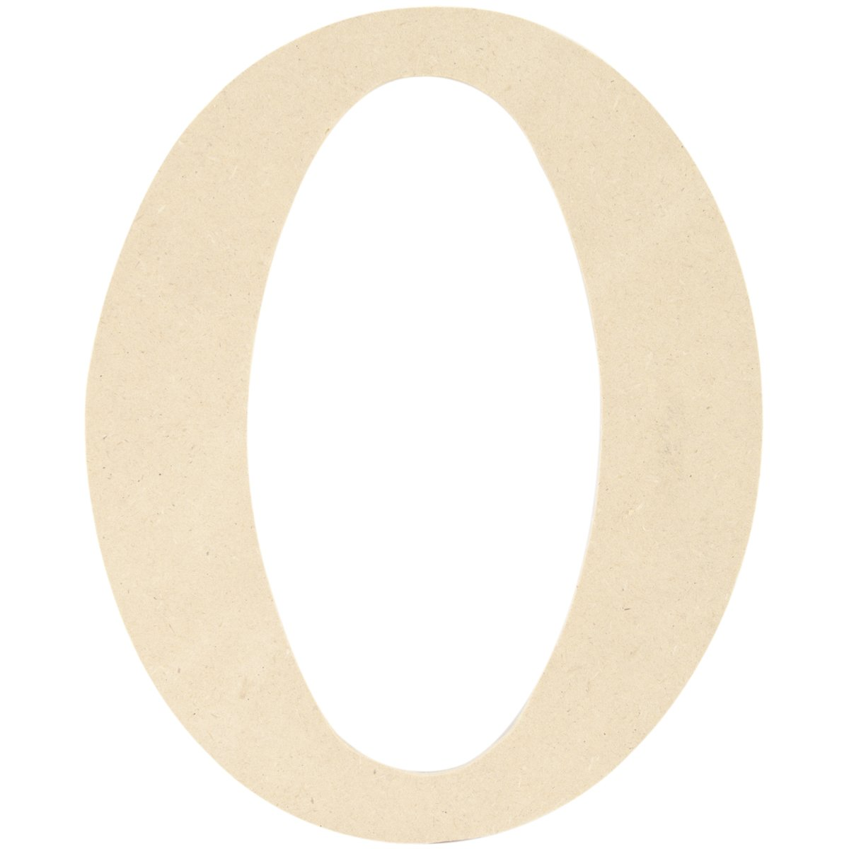 MPI MDF Classic Font Wood Letters and Numbers, 9.5-Inch, Monogram O MDF9-L415