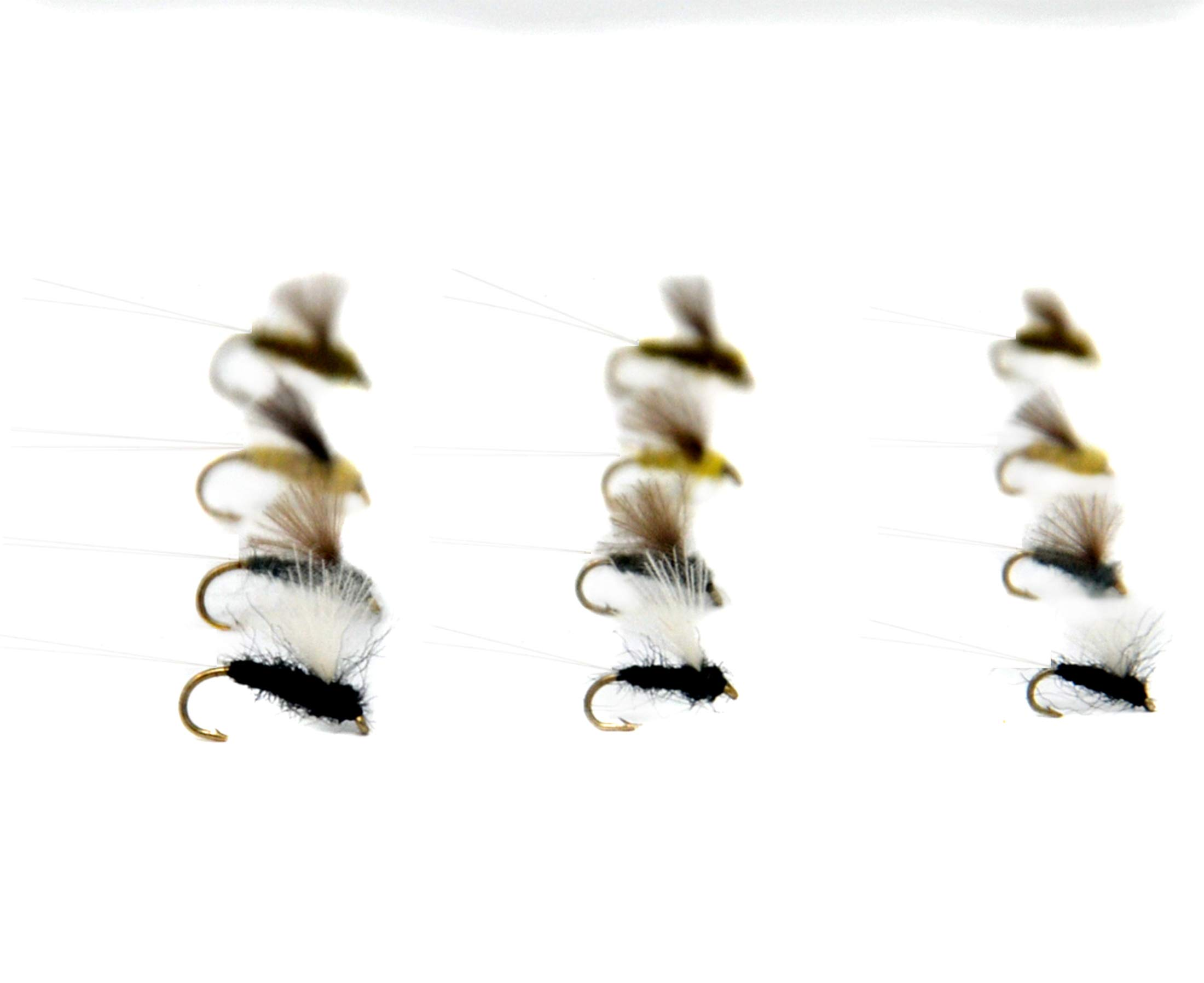 Outdoor Planet 12 RS2 Mayfly Nymph and Emerger Midge/Caddis/Stoneflies Trout Flies Lure Assortment for Trout Fly Fishing Flies by Outdoor Planet