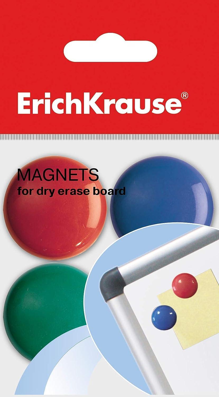 effa/çeur 8 aimants + 4 marqueurs + 2 effaceurs, assortis Erich Krause Lot de 4 marqueurs pour tableau blanc