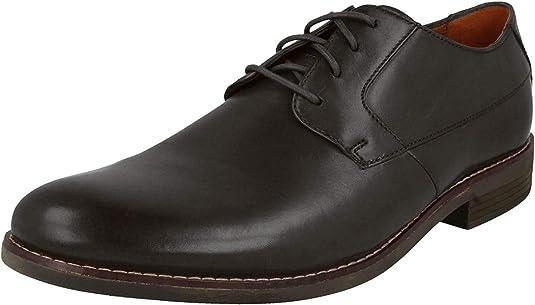 TALLA 41 EU. Clarks Becken Plain, Zapatos de Cordones Derby para Hombre