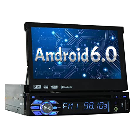 Reproductor de DVD androide 6.0 Sinlge 1DIN Coche de Cuatro n¨²cleos EST¨¦