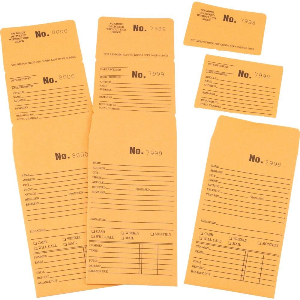 Triple Duty Repair Envelopes 1-1000