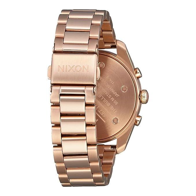 Nixon Uhr Edelstahl 2806 Quarz Mit Damen 00 A949 Chronograph Armband ZkPuTOXi