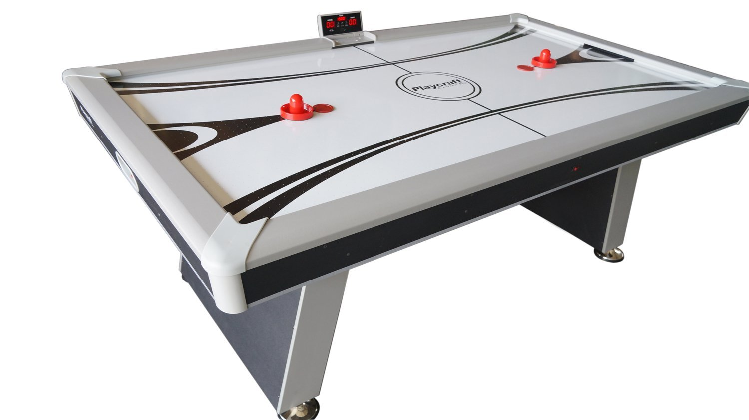 Amazoncom Playcraft Center Ice Air Hockey Table Sports - Air hockey table with ping pong top