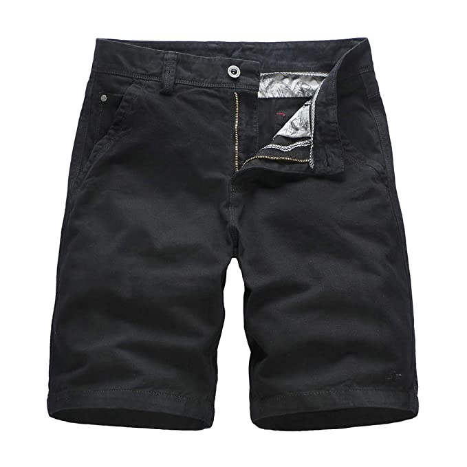 Mens Summer Outdoors Sport Shorts Pants Casual Loose Pure Color Overalls Beach Sport Shorts Pants