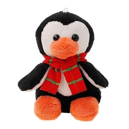 Amazon Com Tiktoy Plush Penguin Stuffed Animals Toy Measures 4 7