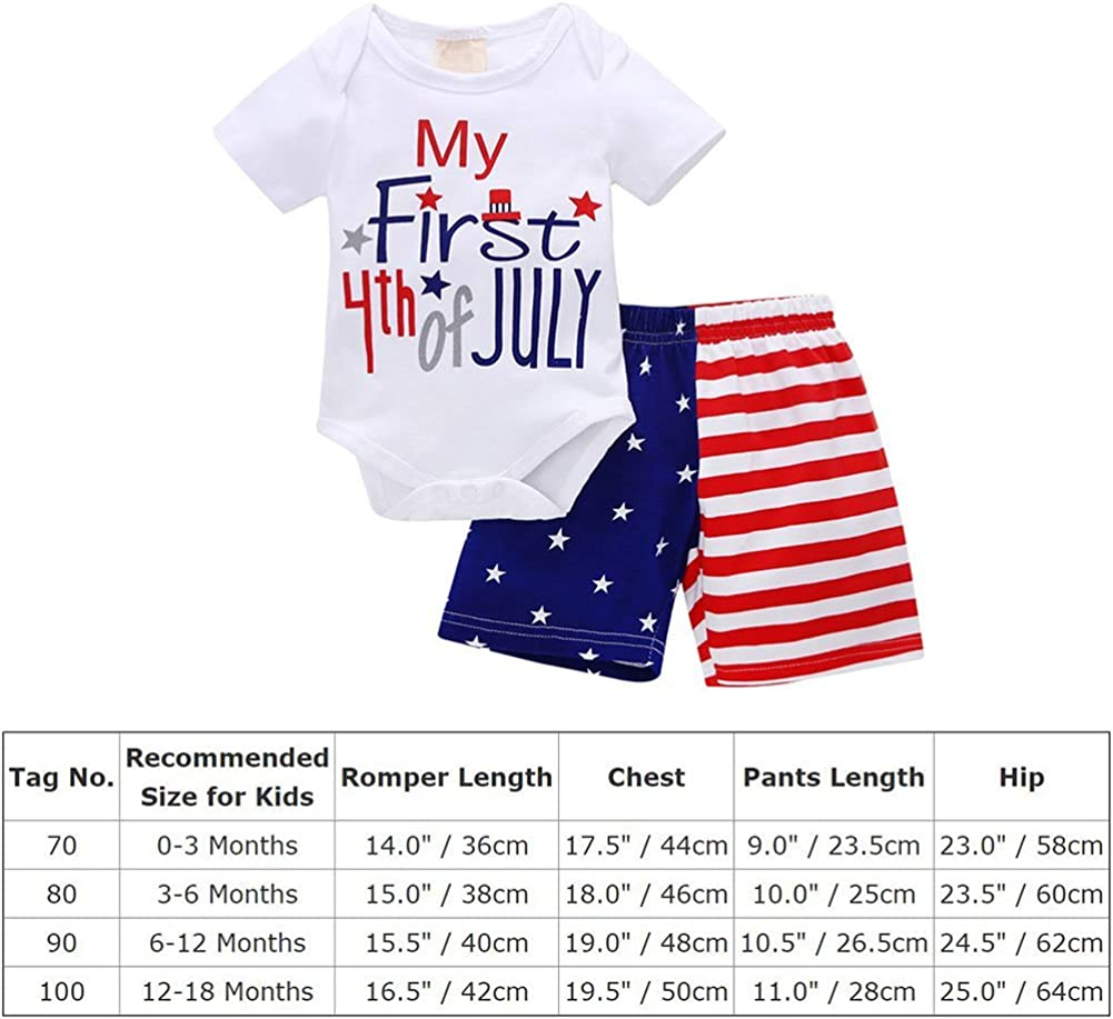 NWT Gymboree Patriotic Stars /& Stripes Baby Boys 4th of July Romper Sunsuit